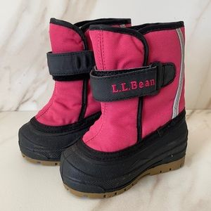 LL Bean Northwoods Toddlers Snow Boots Size 5